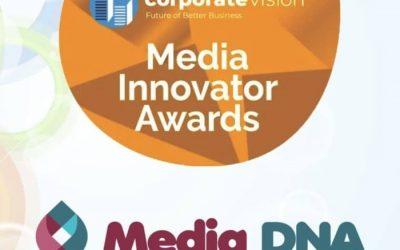 PRESS RELEASE: Media DNA Wins UK Media Innovator Awards