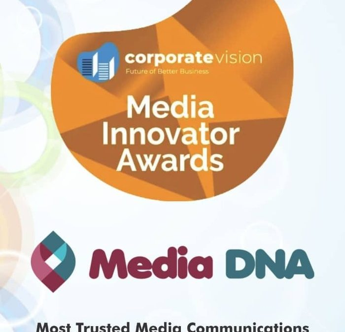PRESS RELEASE: Media DNA Wins UK Media Innovator Awards